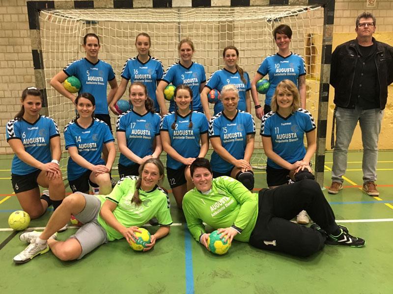 Damen-Mannschaft der SG Linden-Dahlhausen