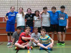 D-Jugend bei der Stadtmeisterschaft 2017