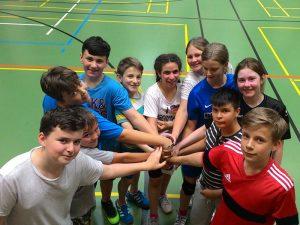 E-Jugend feiert die Vizestadtmeisterschaft 2017